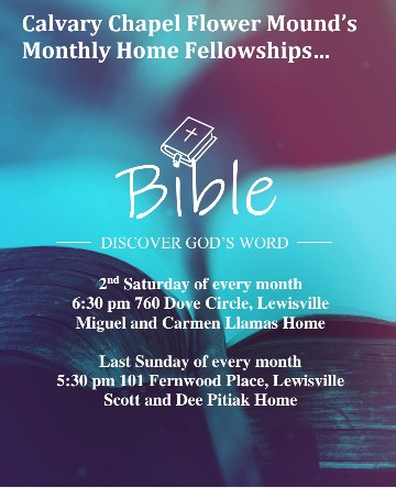Calvary Chapel Flower Mound Home Fellowships